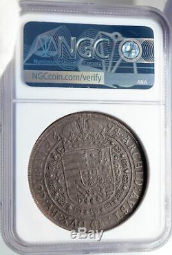 1694 AUSTRIA Holy Roman Empire LEOPOLD I Silver TALER / THALER Coin NGC i82832