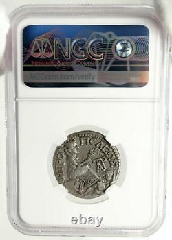 AUGUSTUS 1BC Authentic Ancient Silver Roman Tetradrachm Coin TARSUS NGC i84973