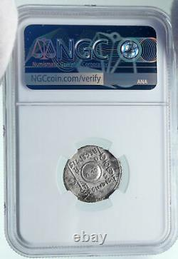 AUGUSTUS Ancient 19BC Silver Roman Coin STANDARDS RETURN from PARTHIA NGC i86626