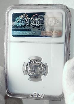 AUGUSTUS Biblical Jesus Christ Time RENDER CAESAR Silver Roman Coin NGC i81536