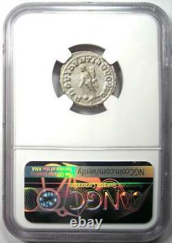 Ancient Roman Balbinus AR Denarius Silver Coin 238 AD NGC AU with Fine Style
