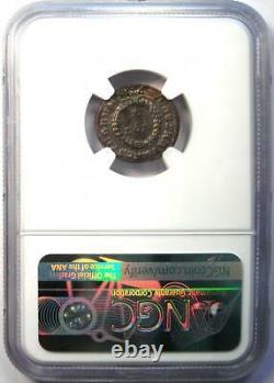 Ancient Roman Crispus BI Nummus AE3 Coin (316-326 AD) Certified NGC MS (UNC)