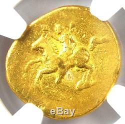 Ancient Roman Domitian Gold AV Aureus Coin 81-96 AD Certified NGC Fine
