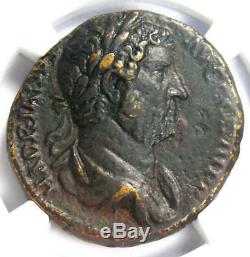 Ancient Roman Hadrian AE As Coin 117-138 AD Certified NGC XF(EF)