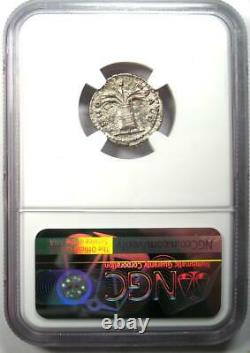 Ancient Roman Hadrian AR Denarius Coin 117-138 AD Certified NGC AU