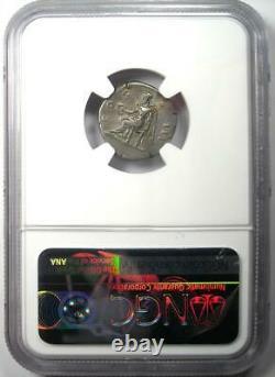 Ancient Roman Hadrian AR Denarius Coin 117-138 AD Certified NGC Choice VF