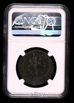 Antoninus Pius Sestertius 138 161 Ad Ancient Roman Coin Pietas Children Ngc