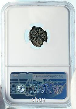 Authentic Ancient JEWISH WAR vs ROMANS 67AD Historical JERUSALEM Coin NGC i83928