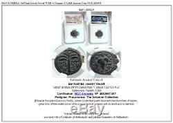 BAR KOKHBA 3rd Final Jewish Revolt WAR vs Romans 132AD Ancient Coin NGC i80694
