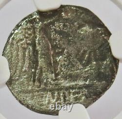 C. 88 Bc Silver Roman Republic Quinarius Cn. Lentulus Clodianus Coin Ngc Fine