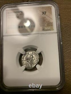 COMMODUS the GLADIATOR Emperor Ancient Silver 177-192AD Rome Roman Coin NGC