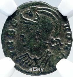 CONSTANTINE I the GREAT 330AD Romulus Remus WOLF Ancient Roman Coin NGC i82592