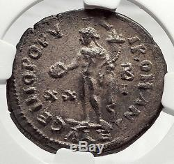 DIOCLETIAN 301AD Alexandria Follis NGC Certified Choice MS Roman Coin i63348