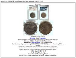 DOMITILLA Vespasian wife 80AD Sestertius Rome under Titus Roman Coin NGC i79212