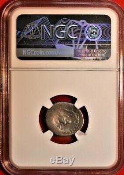 E-Coins Australia Sextus Pompey AR Denarius NGC VG Roman Imperatorial coin