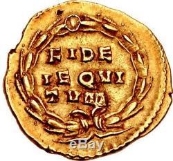 GALLIENUS Authentic Ancient 262AD Rome Aureus Genuine Gold Roman Coin RARE NGC