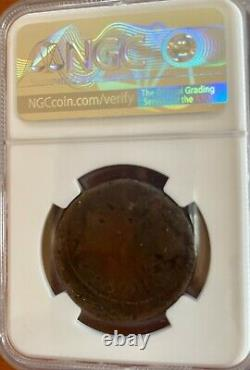 Julius Caesar/Octavian Ancient Coin NGC VG Roman Imperatorial 38BC AE Sestertius