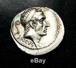 L. Marcius Philippus. Denarius 56 BC. Roman Republic Silver Coin