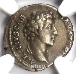 Marcus Aurelius AR Denarius Silver Roman Coin 161-180 AD Certified NGC VF