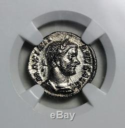Maximian 286-310 AD AR Argenteus Trier Mint NGC CH XF Acient Roman Empire Coin