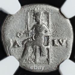NERO NGC G ROMAN COINS, AD 54-68. AR Denarius. A836