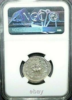 NGC AU ROMAN COINS Trajan Decius, AD 249-251. AR Double-Denarius. MAX/024