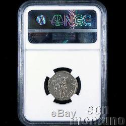 NGC CHOICE CH-AU Postumus Ancient Roman Bi Double Denarius Silver Coin 260-269AD