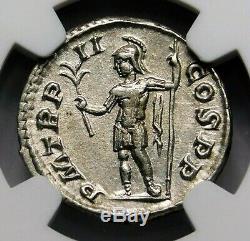 NGC Ch XF. Severus Alexander. Outstanding Denarius. Ancient Roman Silver Coin