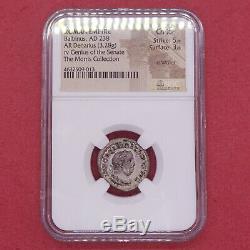NGC Roman Empire Balbinus AR Double Denarius AD 238 Silver coin