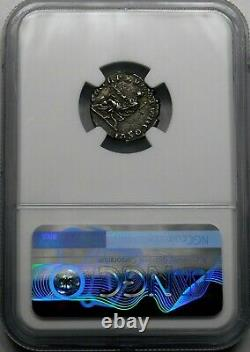 NGC XF Commodus. Outstanding Denarius. Son of Marcus Aurelius. Roman Silver Coin