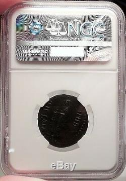 OCTAVIA, wife of Nero. Thrace, 54 AD. Authentic Roman Coin Certified NGC Choice XF