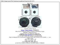 PROBUS Original Ancient 278AD Tetradrachm Alexandria Egypt Roman Coin NGC i81534