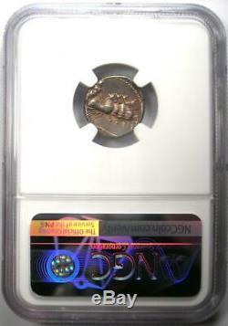 Roman Anonymous AR Denarius Silver Coin 86 BC (Apollo, Jupiter) NGC Choice XF