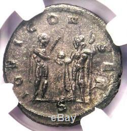 Roman Aurelian BI Double-Denarius Coin (270-275 AD) Certified NGC MS (UNC)