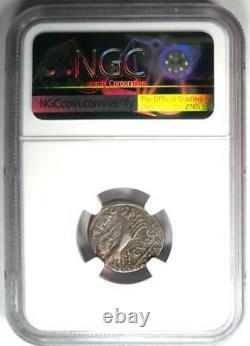 Roman C. Valerius Cf. Flaccus AR Denarius Silver Coin 140 BC Certified NGC VF