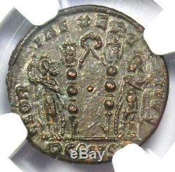 Roman Constantine I BI Nummus Coin (307-337 AD) Certified NGC MS (UNC)