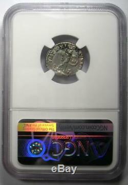 Roman Domitian AR Denarius Silver Coin 81-96 AD Certified NGC Choice XF (EF)