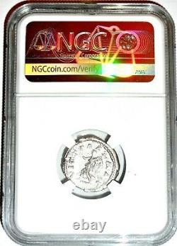 Roman Emperor Silver Denarius of Caracalla Coin NGC Certified VF & Story