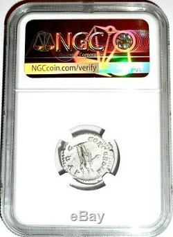 Roman Fulvia Plautilla Antoninianus Silver Denarius Coin NGC Certified VF