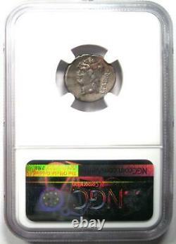 Roman L. Cassius Qf. Longinus AR Denarius Coin 78 BC Certified NGC Choice VF