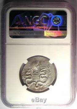 Roman Marc Antony and Octavia AR Cistophorus Coin 39 BC. Certified NGC XF