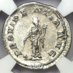 Roman Maximinus I AR Denarius Silver Coin 235-238 AD Certified NGC Choice AU