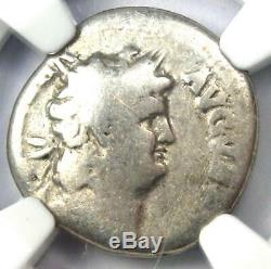 Roman Nero AR Denarius Coin 54-68 AD Certified NGC VG Rare Coin