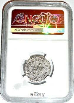 Roman Otacilia Severa Antoninianus Silver Denarius Coin NGC Certified VF & Story