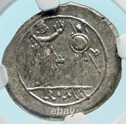 Roman Republic 2nd PUNIC WAR Hannibal TME Victoriatus Silver Coin NGC MS i83845