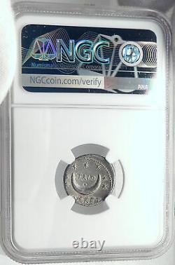Roman Republic Ancient Rome Silver Coin SOL BIG DIPPER CONSTELLATION NGC i82367