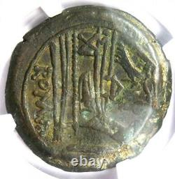 Roman Republic Anonymous Janus AE As Coin 189-180 BC Certified NGC XF(EF)