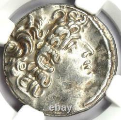 Roman Rule A. Gabinius AR Tetradrachm Coin 57-55 BC Certified NGC Choice XF