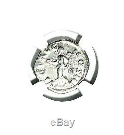 Roman Silver Denarius Marcus Aurelius Coin NGC Certified VF & Story, Certificate