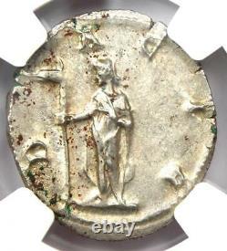 Roman Trajan Decius AR Double Denarius Coin 249-251 AD Certified NGC MS (UNC)